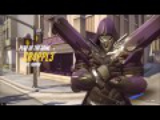 OVERWATCH POTG REAPER IN MY TEAM l ЖНЕЦ В МОЕЙ ТИМЕ