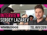 Sergey Lazarev Russia at Israel Calling, Tel-Aviv Eurovision Party - Interview | wiwibloggs