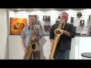 Gary Smulyan, Baritone Sax Denis DiBlasio, Baritone Sax - Groovin' High (Dizzy Gillespie) Live