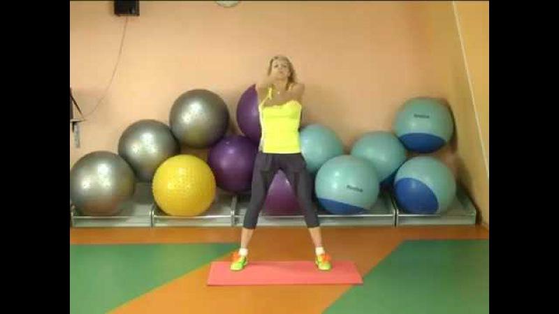 Простые советы. Фитнес. Мышцы брюшного пресса и косые мышцы живота.