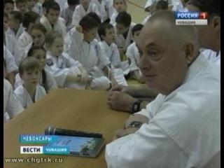 Президент-основатель Федерации кекусинкай России дал урок юным каратистам