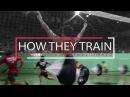 BADMINTON PROFESSIONALS How They Train 专业球员如何训练 Lee Chong Wei Lin Dan Jorgensen More