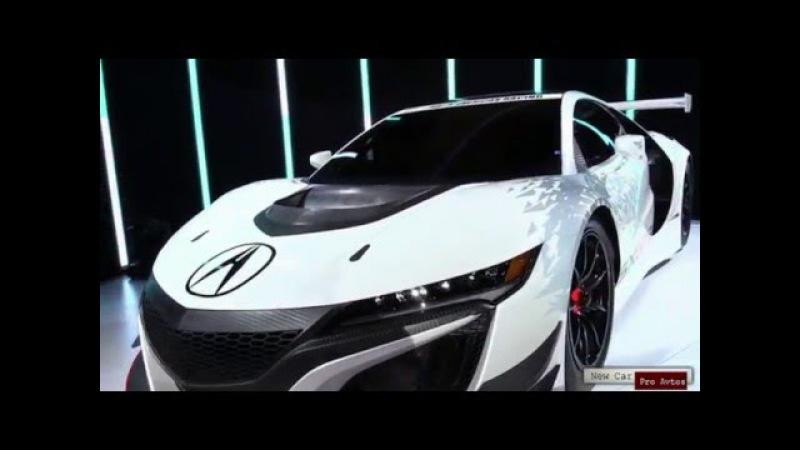New Car.Презентация гоночного спорткара Acura NSX GT3