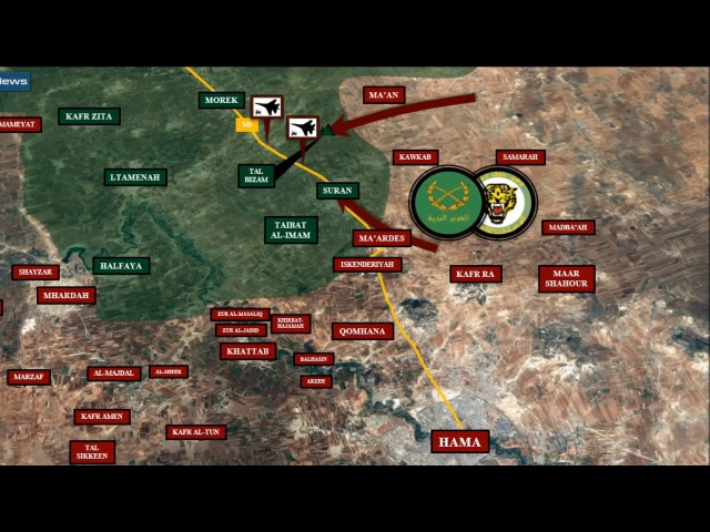 Syrian War Update - Northern Hama Combat Sector (April 17, 2017): Souran Liberated.