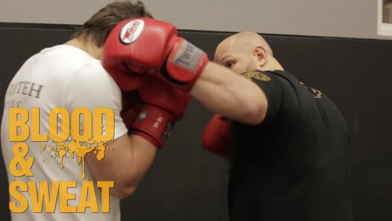 Передний боковой как бить как поставить удар Техника бокса Игорь Смольянов Boxing