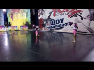 Double freestyle pom Children Miami
