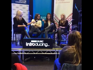 Blossoms q & a with bbc introducing and salford city college future skills