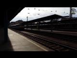 Последний отечественный IC поезд из Буэнос-Айреса, железнодорожного вокзала Будапешта Келети HD