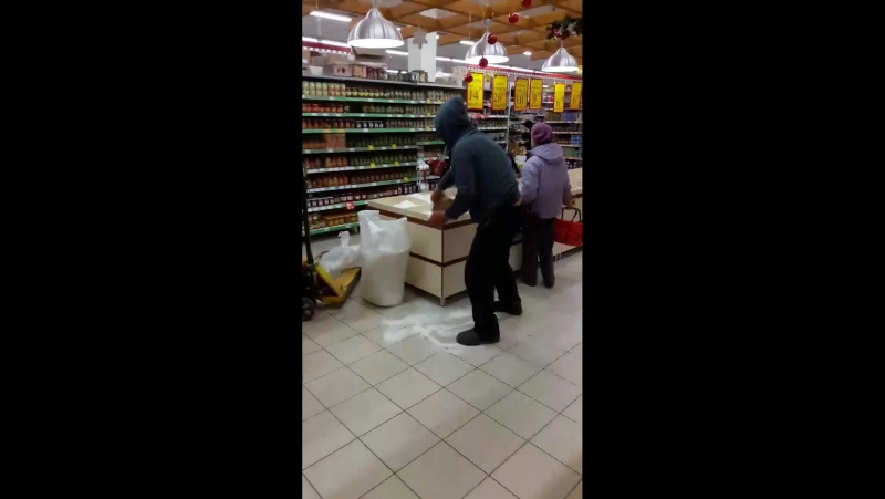 У Франківському супермаркеті