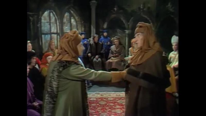4серия ,,ПРОКЛЯТЫЕ КОРОЛИ,, (1972) негоже лилиям прясть