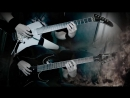 Dimmu Borgir - Vredesbyrd guitar cover (Both parts)