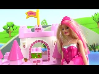 Мультики для девочек БАРБИ Супер Принцесса! Волшебное спасение! Игры для девочек Барби кукольный театр