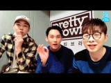 Pretty Brown V LIVE with Jaeseop( Si Yoon)
