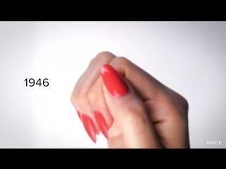 100 лет красоты - женский маникюр