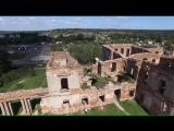 Небольшой видеоролик о Ружанском замке, аэросъёмка