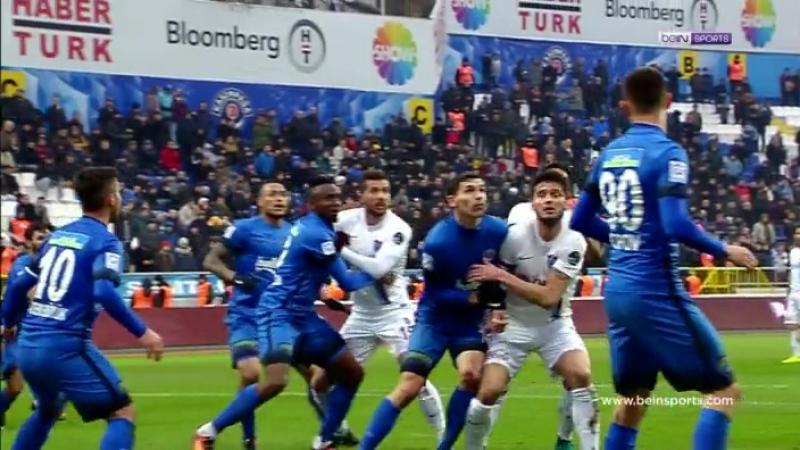 SL 2016-17. Kasımpaşa 0-1 Trabzonspor