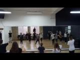 Choreography by Sasha Putilov (N'sync It's tearing up my heart) gr 1.2