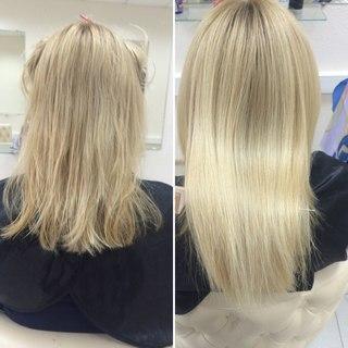 длинные волосы как сделать кончики