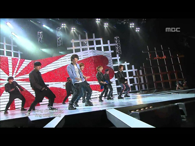 SHINee - Ring Ding Dong, 샤이니 - 링 딩 동, Music Core 20091024