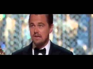 Леонардо ди Каприо получает свой долгожданный Оскар как лучший актер за фильм Выживший