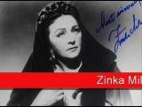 Zinka Milanov Verdi - Il Trovatore, 'Tacea la notte placida'