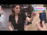 Lizzy Caplan greets fans at The 22nd Annual A Night At Sardi's in Beverly Hills