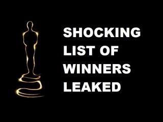 OSCARS 2017 leak winners list (found footage). Lots of MOONLIGHT, a bit of LA LA LAND and no FENCES!