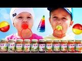✿ BABY FOOD Challenge ДЕТСКОЕ ПИТАНИЕ Челлендж Вызов Принят Челленджи от Диана Шоу
