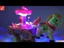 Những chú Hề diễn xiếc trên xe Ngựa vui nhộn, Horse Drawn Carriage And Clowns Toy, Đồ chơi trẻ em