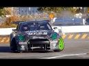 暴れる1300馬力 R35 GT-R 斎藤 太吾 ドリフト お台場ドリフト超天国 drift Formula D daigo saito