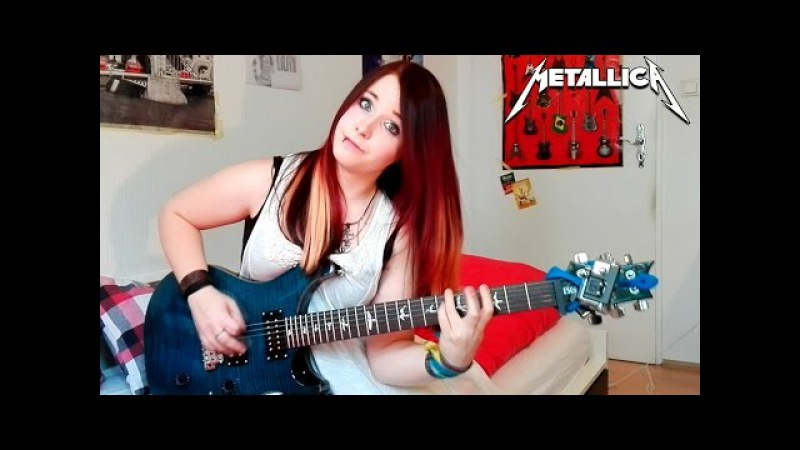 METALLICA Hardwired GUITAR COVER with SOLO Jassy J