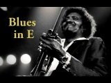 Texas Blues Albert Collins Style Guitar Backing Track in E 122 bpm