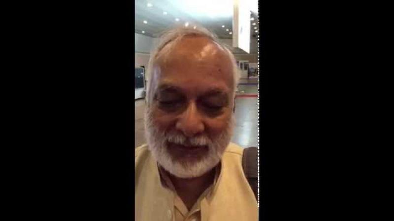 Видеообращение Свамиджи для участников кемпа сентябрь 2016