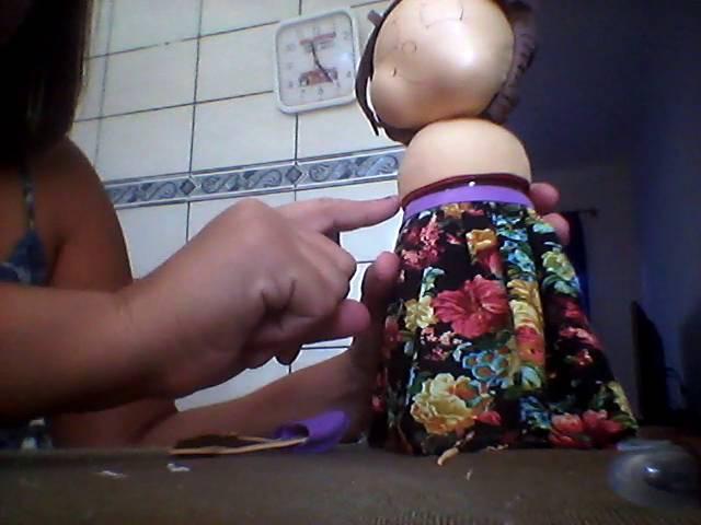 Boneca no pote de maionese(2)