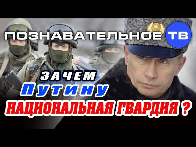 Зачем Путину Национальная гвардия Познавательное ТВ Артём Войтенков