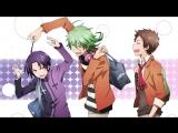 AniDub Servamp  Слуга Вампир 03 Ancord, Fuurou, Jade