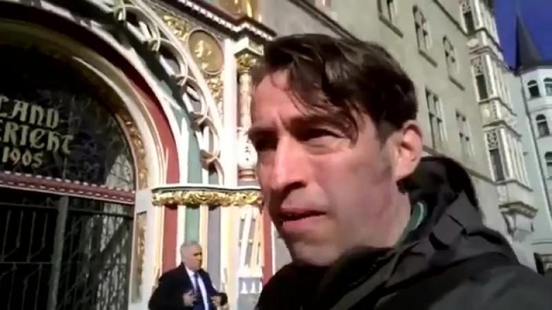 Sven unterstützt 2017 04 11 Teil 1 Bandbreite vor Landgericht Halle wegen Mario Bialek - Backup des FB Live-Video... [Low, 480x3