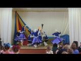 Народно-сценический танец-русские зимы веселы красивы