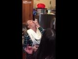 LiveLeak.com - Hot Blonde Swallows Stick Of Butter
