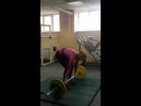 Толчок в ПП 75 кг ( Leonidova Svetlana)
