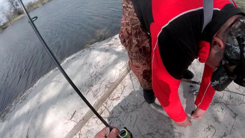 Ловля судака и щуки на воблеры и блёсна река Аджамка смотреть онлайн без регистрации