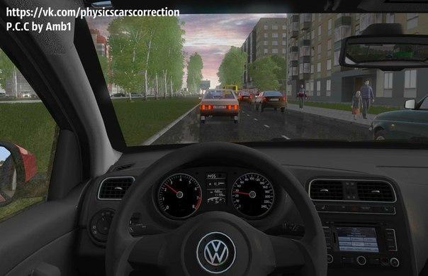 City Car Driving :: Topic: Volkswagen Polo Sedan 1 6 AT (1 5