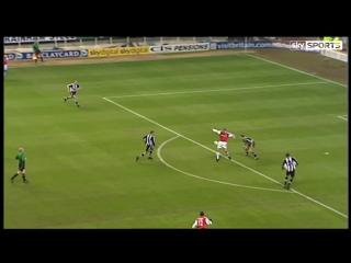 How Dennis Bergkamp scored his Arsenal wondergoal at Newcastle
