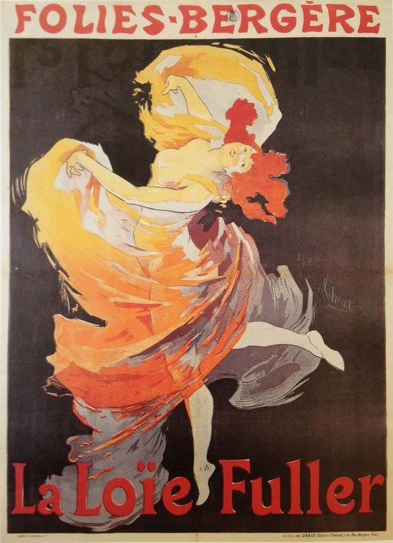 Постер Жюля Шере, источник: danceheritage.org