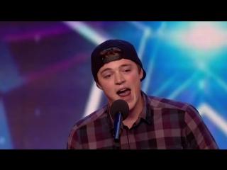 Парень перепел Miley Cyrus Wrecking Ball голосами телегероев [720p]