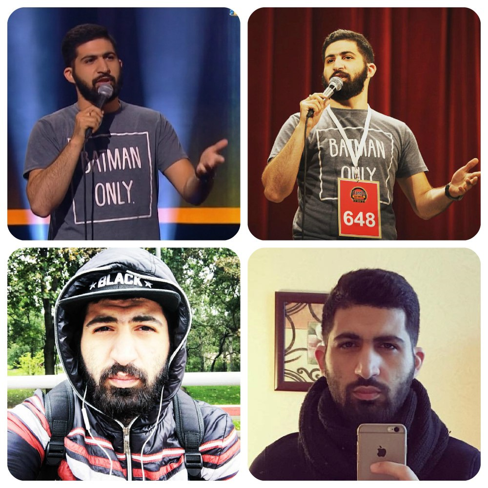 Гурам Амарян из Шоу Открытый микрофон ТНТ стэндап езид армянин грузин