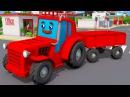 Great Tractor for Kids Zabawki w Miasto Fairy tales Traktor animacje konstrukcja