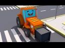 Fairy Tractors for Kids Pracowity Traktorek w Mieście Ciężarówek Kreskówki Bajki dla dzieci