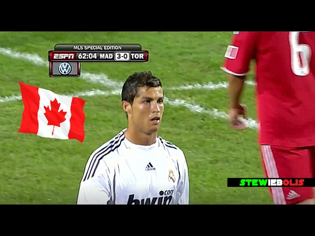 Cristiano Ronaldo Vs Toronto ● Friendly Match (2009-10) ● HD CristianoRonaldo