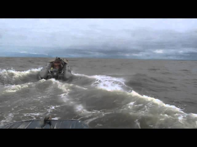 Риб Кайман450 и Казанка5 в Белом море